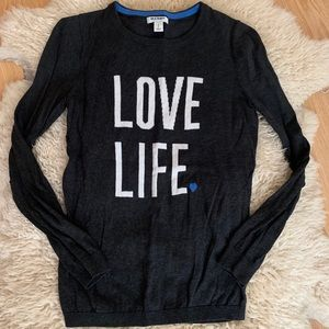 Old Navy Love Life Sweater